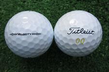 50 Titleist Velocity modelo 2015 pelotas de golf aaaa-AAA Top