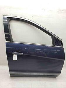 2010-2015 CADILLAC SRX RIGHT FRONT PASSENGER DOOR SHELL BLUE METALLIC (GAP) OEM