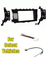 Double Din Car Stereo Radio Install Kit Combo for 2013-2016 Nissan Altima Sedan