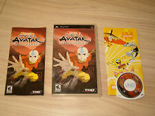 SONY PSP * AVATAR THE LAST AIRBENDER * 2006 COMPLETE & LN!