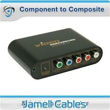 Component to Composite & S-Video Converter