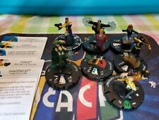 Heroclix Wolverine & the X-Men Lot of 7 figures X-Man, Forge, Polaris *As-Is*