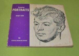 Drawing Portraits by Henry Carr - Vintage 1961 Edition