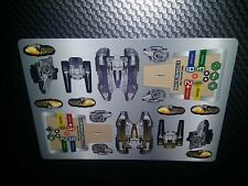 Star Wars Pocketmodel Ground Assault #17 Jedi Fighter Tanks