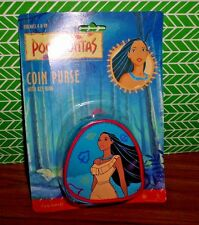 Disney Vintage Pocahontas Native American Princess Coin Purse NEW Costume Play