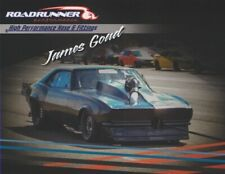 "2019 James Goad ""Reaper"" Roadrunner '68 Chevy Camaro PRI Street Outlaws postcard"