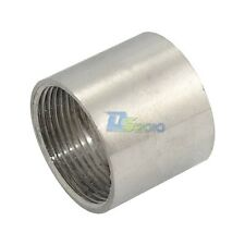 "New 1-1/4"" Female x 1-1/4"" Female 304 Stainless Steel threaded Pipe Fitting NPT"