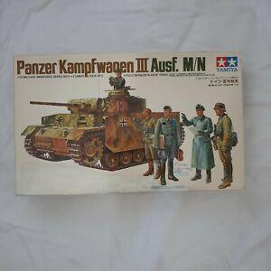 Modellbausatz von Tamiya 1:35, Panzer Kampfwagen III Ausf. M/N