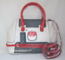 6f0913f80b GUESS Nini Bag Purse Handbag Satchel Sac White Stone Multi Denim Jeans New