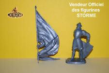 Mokarex - STORME - XVIIeme - Porte Etendard - 54 mm - Figurine Diorama