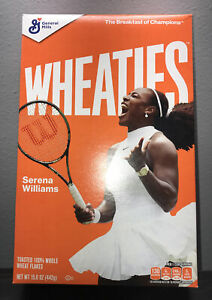 SERENA WILLIAMS Wheaties Cereal Box Unrelased📈Limited‼️WOMENS TENNIS