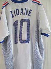 Francia 2002-2004 Away Zidane 10 Camiseta De Fútbol Talla Xl / 38089