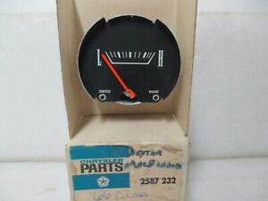 Mopar NOS 1966 Plymouth Barracuda Oil Pressure Gauge 2587232