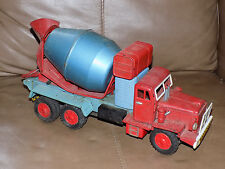 Tin Friction Cement Mixer Made in Japan Truck