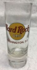 Hard Rock Cafe Shot Glasses Glass Logo Washington Dc Usa