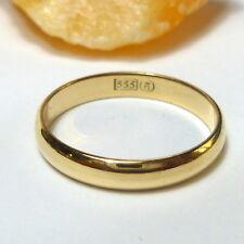333/8K Anillo de Oro Compromiso Alianza Amarillo Cinta 54 (17,2 Mm Ø)