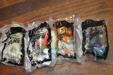 Lot of 4 McDonald's  Stretch Screamers Happy Meal  # 1& #2 #5 & #6 NEW  A#9