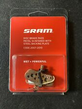 SRAM Disc Brake Pads Wet & Powerful For Code 2007-2010
