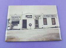 Coca Cola Fridge Magnet - Vintage Image Alpine Inn