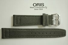 NWOP 20MM GREEN CANVAS PLONGEUR WATCH BAND WATCHBAND BRACELET STRAP FOR ORIS EV