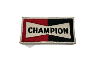 Vintage Champion Spark Plug Uniform Patch New Old Stock SHIPS FREE IN USA