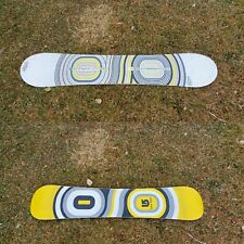 Burton X855 Custom X Camber 152cm Snowboard Silver Sparkle Genuine Authentic