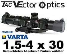 VECTOR OPTICS Taktisches Zielfernrohr MUSTANG 1.5-4 x 30 mit Picatinny Montage