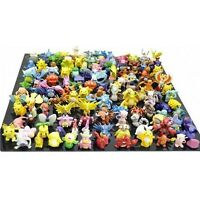 144 PCS Lots Pokemon Mini Random Figures Holiday USA Seller + Stickers Gift Xmas