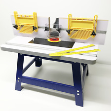 1/4' & 1/2' BENCH TOP ROUTER TABLE WITH FEATHER BOARDS