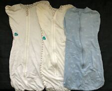 LOT 3 items- Love To Dream Swaddle Up sleeping suits (approx 0-6MTH/medium size)