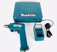 Makita 6012HD Cordless Driver Drill w/ Charger, Chuck Key & Metal Case
