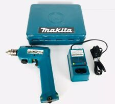 Makita 6012HD Cordless Driver Drill w/ Charger, Chuck Key & Metal Case