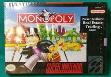 Monopoly Game Collection Collectible  (Super Nintendo)  - NEW~ from 1992 VINTAGE