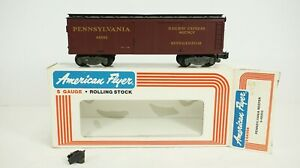 American Flyer S Gauge Pennsylvania PRR Reefer Item 6-48802 NEW DAMAGED