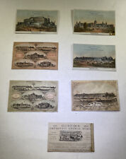 Centennial Exposition Business Cards From Exhibitors RARE Set Of Eight (8)
