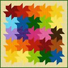 "WE ALL FALL DOWN - 60"" - Pre-cut Quilt Kit by Quilt-Addicts Double size"