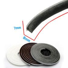 7x8mm Self Adhesive Sealing Brush Strip Wool Pile Door Window Draught Excluders