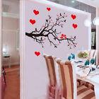 DIY Tree Branch Bird Art Wall Decal Decor Room Stickers Vinyl Home Mural Paper