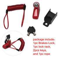 Anti-Theft Disc Brakes Lock With Steel Wire Electric Scooter Wheels Lock Brakesa