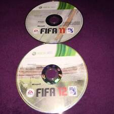 fifa 11 and fifa 12 Discs Only no case XBOX 360