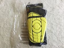 G-Form Soccer Shin Guard, Ionic Yellow  Size Medium