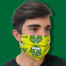Portland Timbers MLS Face Mask Premium 100% Cotton Adult Size Washable