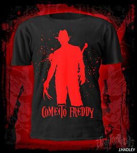 Come to freddy t-shirt,film,dvd,anthrax,S.O.D,horror,