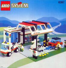 Pare brise LEGO CITY TrLtBlue windscreen 3823 //set 6397 6394 6472 6386 6562 7726