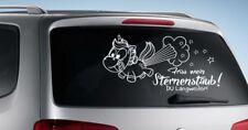 AUFKLEBER Auto Tattoo Car Style Einhorn Trend Sticker Sternenstaub Pups  64