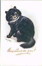 More details for louis wain cats. good luck to you# 3266 by tuck. black cat.