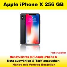 Smartphone Handy mit Vertrag Apple iPhone X 256GB Handyvertrag mit Handy Tarif