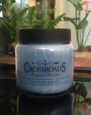CrossRoads 16oz Jar Candle - Cotton Candy - Burns Hours 80-100