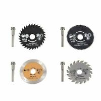 HSS Circular Saw Blade Rotary Tool 54.8mm Mini Wood Cutting Discs with Mandrel M