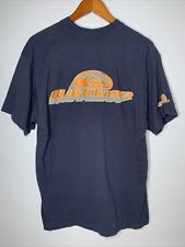New listing Vintage Quiksilver Shirt Mens Sz L Blue SS Double Sided Surf Logo 90s